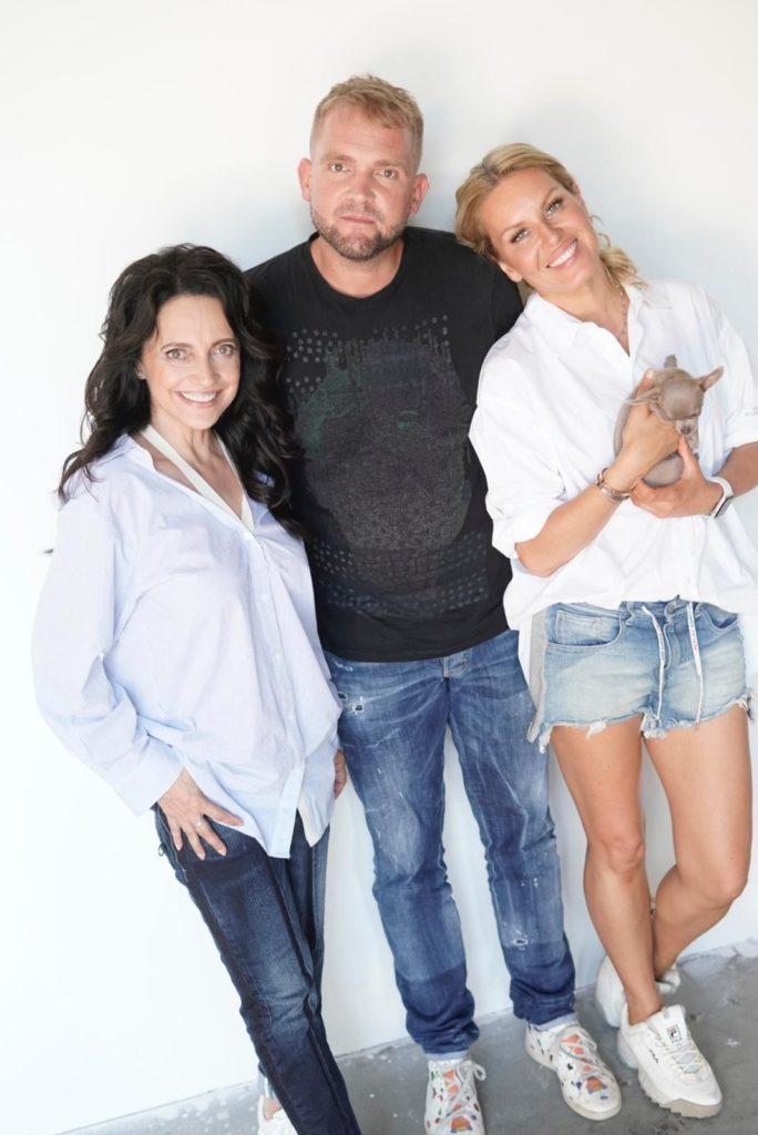 Lucie Bílá, Simona Krainová, Libor Bouček