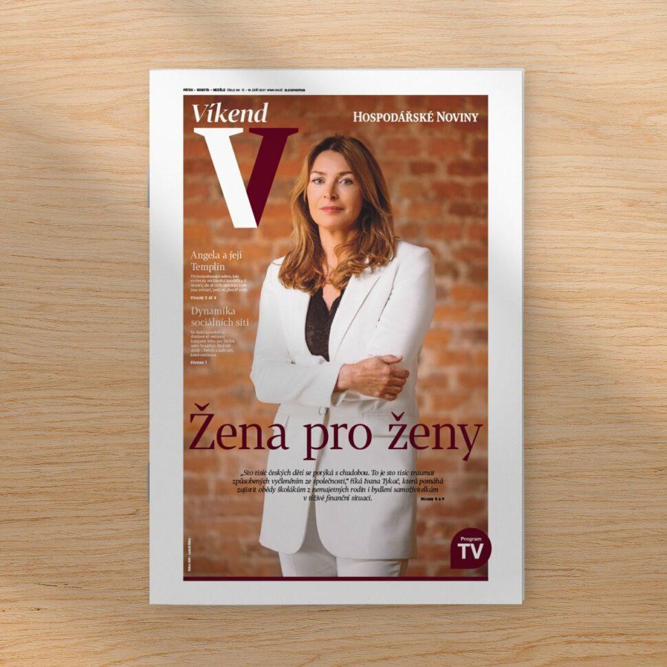 Ivana Tykač Women for Women žena pro ženy rozhovor hospodářské noviny titul
